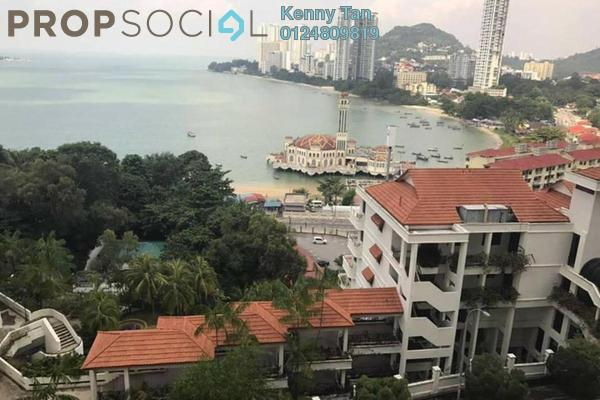For Sale Condominium at Twin Towers, Tanjung Bungah Freehold Fully Furnished 3R/2B 650k