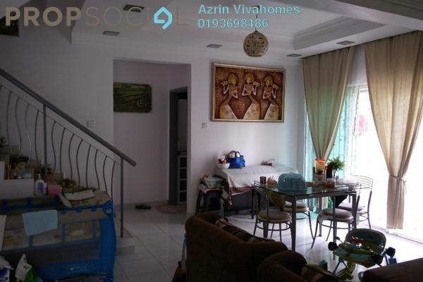 For Sale Terrace at Taman Pelangi Semenyih, Semenyih Freehold Semi Furnished 4R/3B 600k