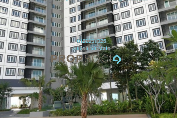 For Sale Condominium at Mercury Serviced Apartment @ Sentul Village, Sentul Freehold Unfurnished 3R/2B 590k