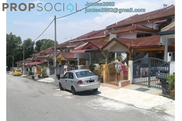 For Sale Townhouse at Taman Lagenda Mas, Cheras South Freehold Unfurnished 3R/2B 480k