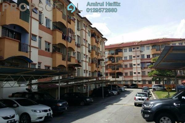 For Sale Apartment at Taman Cheras Intan, Batu 9 Cheras Freehold Unfurnished 3R/2B 320k