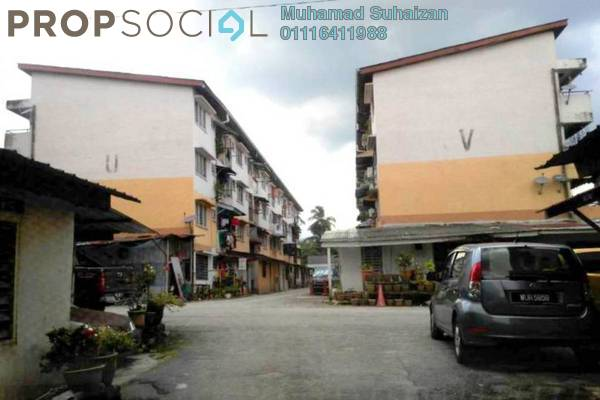 For Sale Apartment at PKNS Taman Keramat Flat, Setiawangsa Leasehold Unfurnished 2R/1B 115k