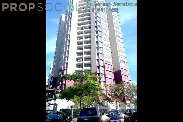 For Sale Condominium at Villa Wangsamas, Wangsa Maju Freehold Semi Furnished 3R/2B 520k