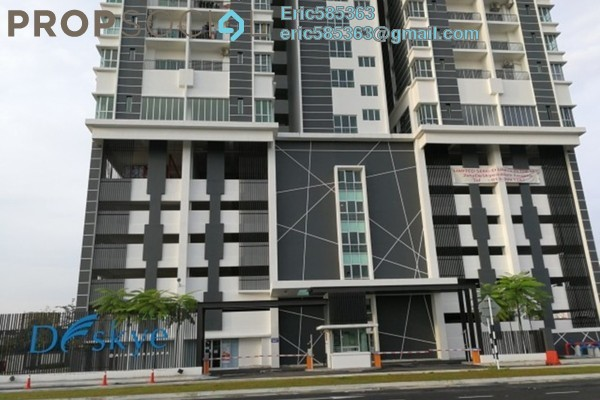 For Rent Condominium at DeSkye Residence, Jalan Ipoh Freehold Semi Furnished 3R/2B 1.65k
