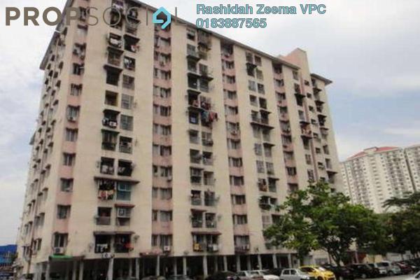 For Sale Apartment at Teratai Mewah Apartment, Setapak Freehold Semi Furnished 3R/1B 215k