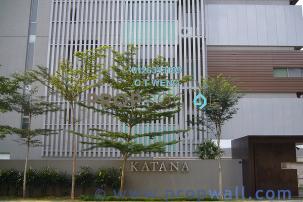 For Rent Condominium at The Katana Residences, Ampang Hilir Freehold Fully Furnished 4R/5B 8.5k