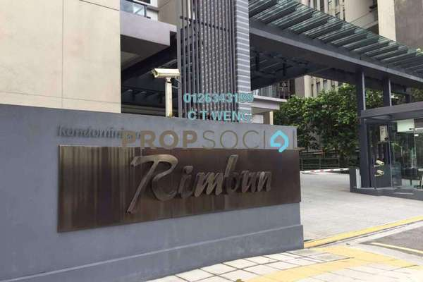 For Rent Condominium at Rimbun, Ampang Hilir Freehold Semi Furnished 4R/4B 12k