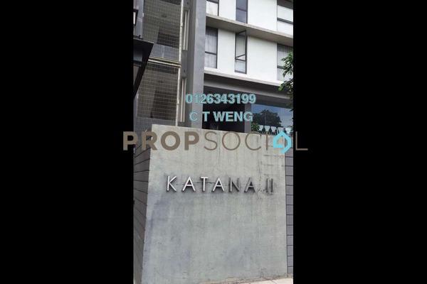 For Rent Condominium at Katana II, Ampang Hilir Freehold Semi Furnished 4R/5B 7.5k