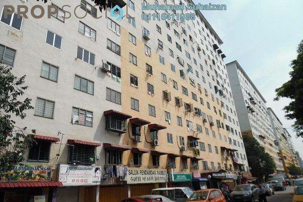 For Sale Apartment at Taman Sri Sentosa, Old Klang Road Freehold Semi Furnished 3R/2B 160k