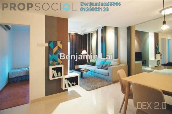 For Sale Condominium at Dex @ Kiara East, Jalan Ipoh Freehold Semi Furnished 2R/1B 571k