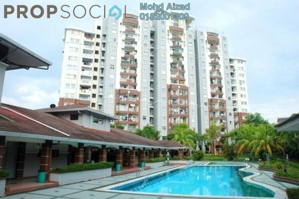 For Sale Condominium at Kemuncak Shah Alam, Shah Alam Freehold Semi Furnished 2R/2B 358k