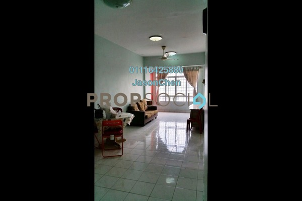 For Rent Apartment at Suria KiPark Damansara, Kepong Freehold Fully Furnished 3R/2B 1.1k