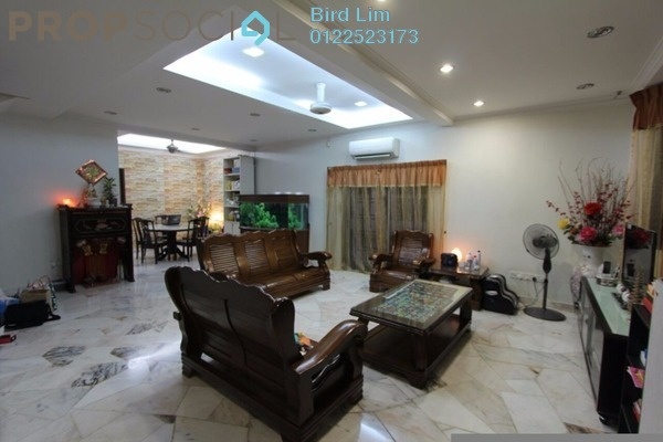 For Sale Terrace at Saujana Puchong, Puchong Freehold Semi Furnished 4R/3B 653k