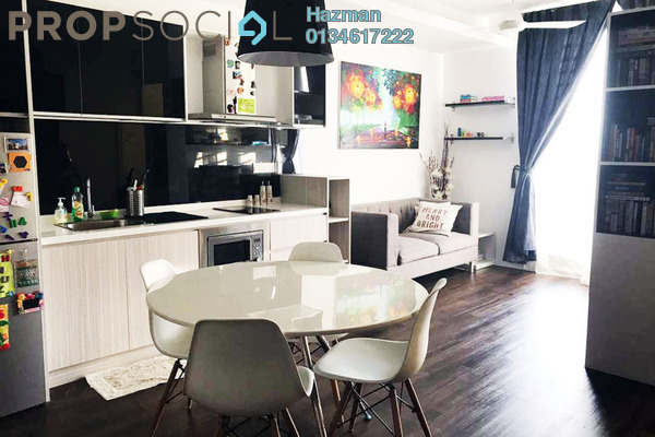 For Sale Serviced Residence at Garden Plaza @ Garden Residence, Cyberjaya Freehold Fully Furnished 2R/2B 400k