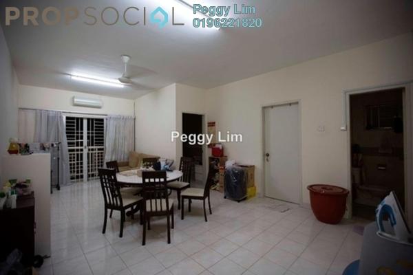 For Sale Apartment at Puteri Bayu, Bandar Puteri Puchong Freehold Semi Furnished 3R/2B 390k