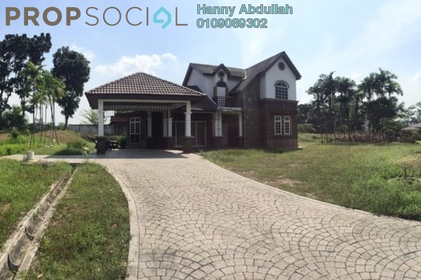 For Sale Bungalow at Sungai Buloh Country Resort, Sungai Buloh Freehold Semi Furnished 4R/3B 1.3m