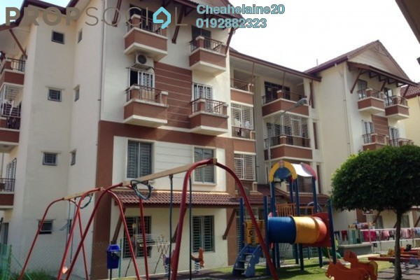 For Rent Apartment at Andari Townvilla, Selayang Heights Freehold Semi Furnished 3R/2B 1k