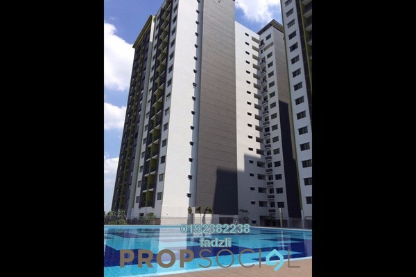 For Sale Apartment at Residensi Alami, Shah Alam Freehold Semi Furnished 3R/2B 520k