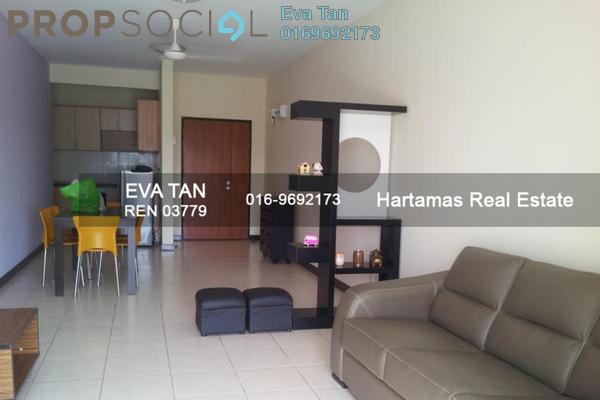 For Rent Condominium at Cova Villa, Kota Damansara Freehold Fully Furnished 3R/2B 1.9k