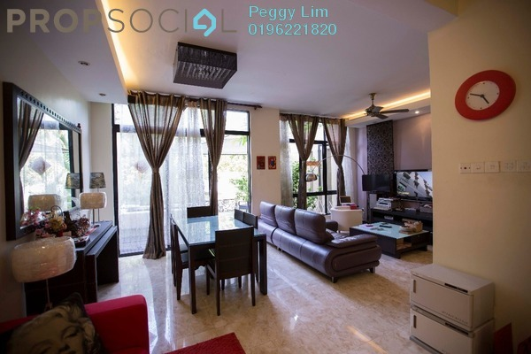 For Sale Terrace at Lake Edge, Puchong Freehold Semi Furnished 3R/2B 1.35m