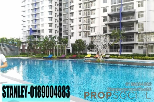 For Rent Condominium at Midfields 2, Sungai Besi Freehold Semi Furnished 3R/2B 1.7k