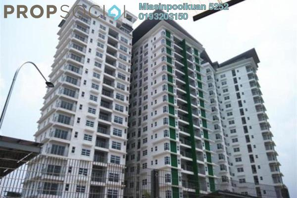 For Rent Condominium at D'Pines, Pandan Indah Freehold Semi Furnished 4R/2B 1.7k