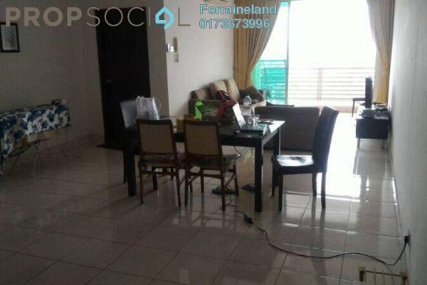 For Rent Condominium at Casa Tiara, Subang Jaya Freehold Fully Furnished 1R/1B 1.1k