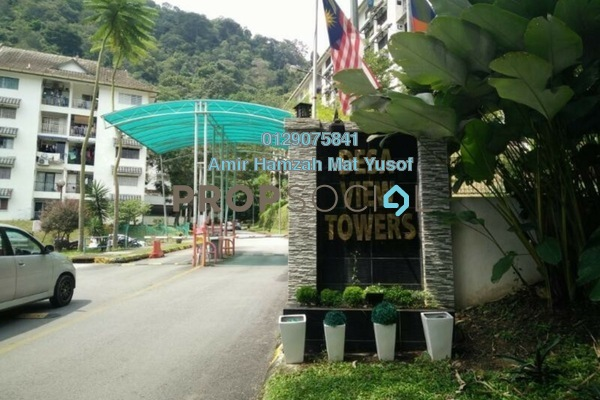For Sale Condominium at Desa View Towers, Melawati Freehold Fully Furnished 3R/2B 275k