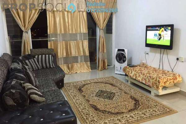 For Sale Condominium at Dwiputra Residences, Putrajaya Freehold Semi Furnished 3R/2B 490k