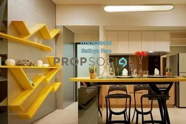 For Sale Serviced Residence at Radia Residences, Bukit Jelutong Freehold Semi Furnished 2R/2B 487k