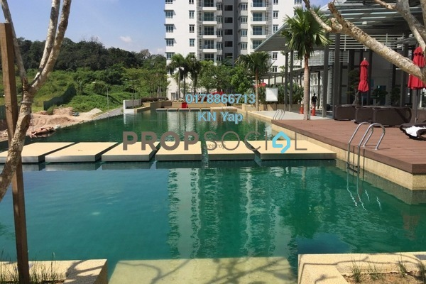 For Sale Condominium at Saville @ The Park, Pantai Freehold Semi Furnished 3R/2B 700k