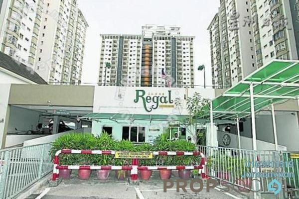 For Sale Condominium at Endah Regal, Sri Petaling Freehold Fully Furnished 3R/2B 430k