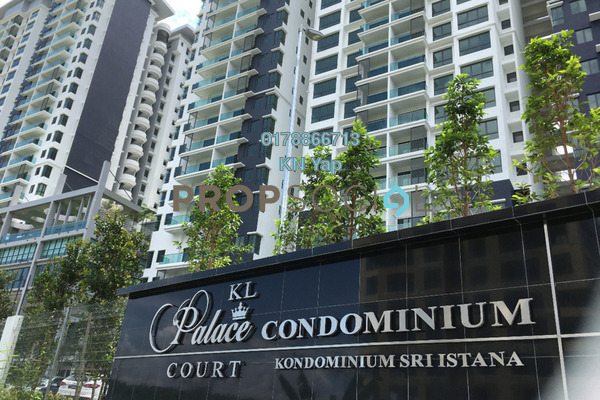 For Sale Condominium at KL Palace Court, Kuchai Lama Leasehold Unfurnished 3R/2B 630k