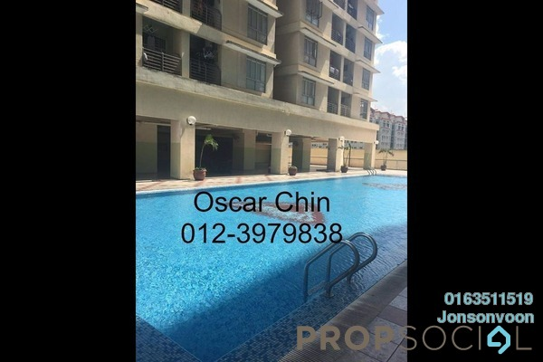 For Rent Condominium at Warisan Cityview, Cheras Freehold Semi Furnished 3R/2B 1.5k