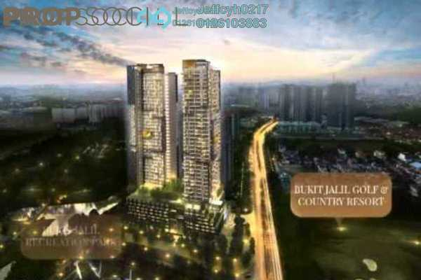 For Sale Serviced Residence at SkyLuxe On The Park, Bukit Jalil Freehold Semi Furnished 1R/1B 580k