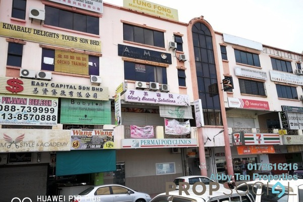 For Rent Office at Beverly Hills Plaza, Penampang Freehold Semi Furnished 0R/1B 1k