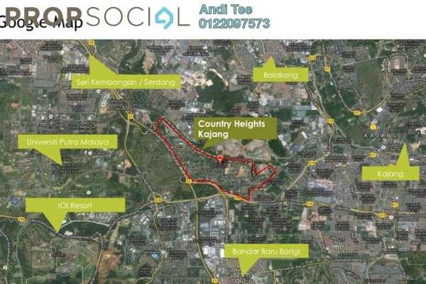For Sale Land at Country Heights Kajang, Kajang Freehold Unfurnished 0R/0B 69.8m