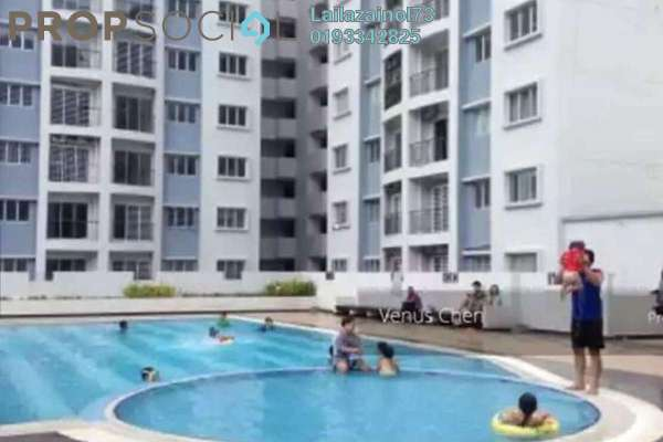 For Sale Condominium at Nusa Mewah, Cheras Freehold Unfurnished 3R/2B 340k