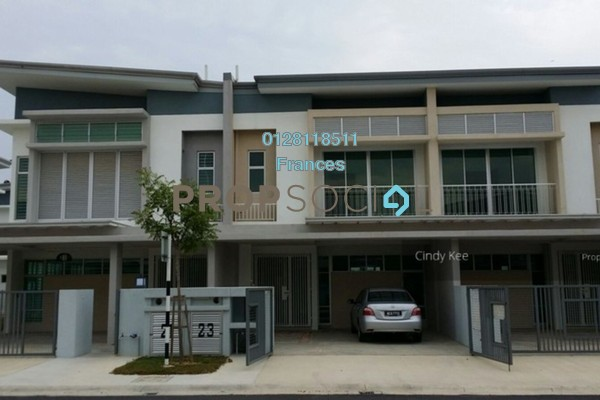 For Sale Terrace at Chimes, Bandar Rimbayu Freehold Semi Furnished 4R/4B 750k
