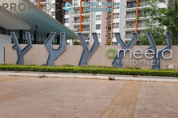 For Rent Condominium at Ameera Residence, Kajang Freehold Fully Furnished 3R/2B 1.8k