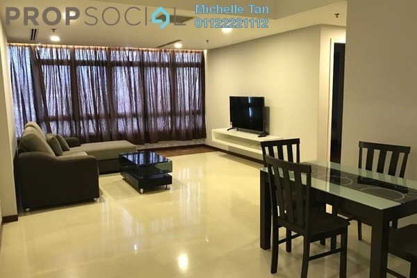 For Sale Condominium at i-Zen Kiara II, Mont Kiara Freehold Fully Furnished 2R/2B 750k