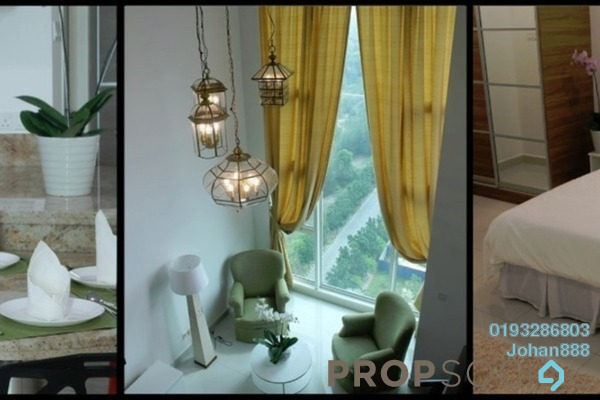 For Sale SoHo/Studio at Centro, Shah Alam Freehold Fully Furnished 1R/2B 480k