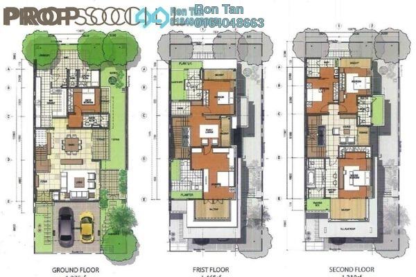 For Sale Semi-Detached at Ferringhi Park, Batu Ferringhi Freehold Unfurnished 6R/7B 1.96m