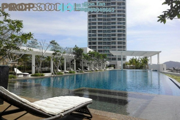 For Sale Condominium at Southbay Plaza @ Southbay City, Batu Maung Freehold Semi Furnished 3R/3B 1.63m