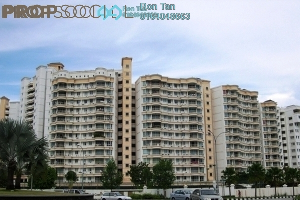 For Sale Condominium at Gold Coast, Bayan Indah Leasehold Fully Furnished 3R/2B 750k