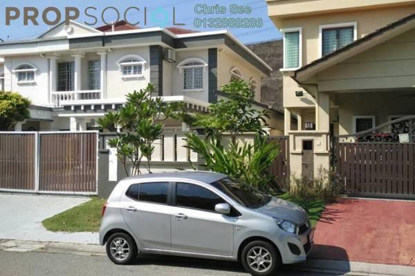 For Rent Semi-Detached at Bukit Bandaraya, Shah Alam Freehold Semi Furnished 4R/3B 2.6k