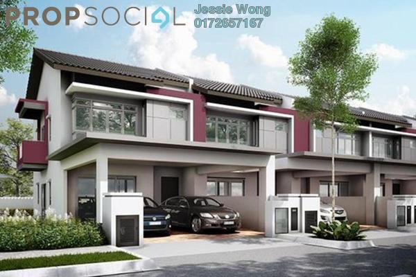 For Sale Terrace at Cyberia SmartHomes, Cyberjaya Freehold Semi Furnished 4R/4B 528k