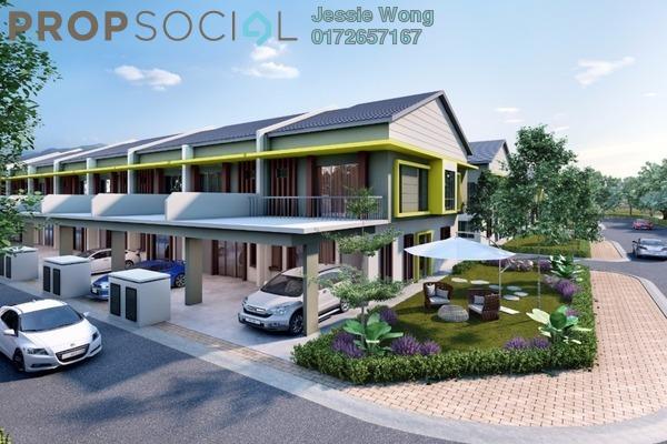 For Sale Terrace at Beta Residence @ Nilai Springs, Nilai Freehold Semi Furnished 4R/4B 518k