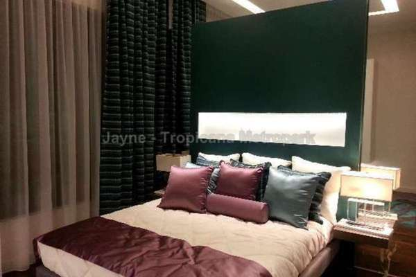 For Sale Condominium at Tropicana Metropark, Subang Jaya Freehold Semi Furnished 3R/2B 600k
