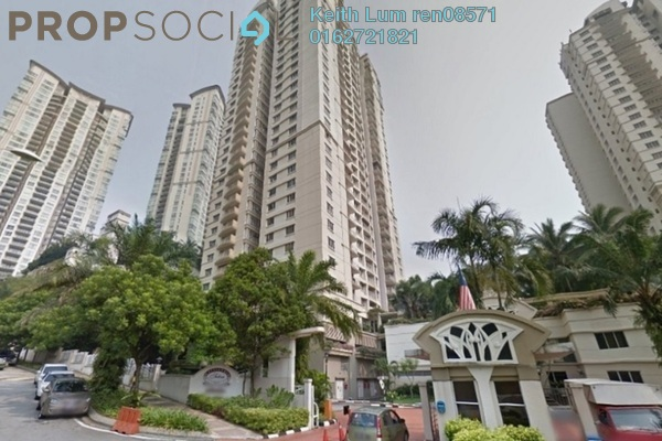 For Rent Condominium at Kiaramas Sutera, Mont Kiara Freehold Semi Furnished 3R/3B 3.5k
